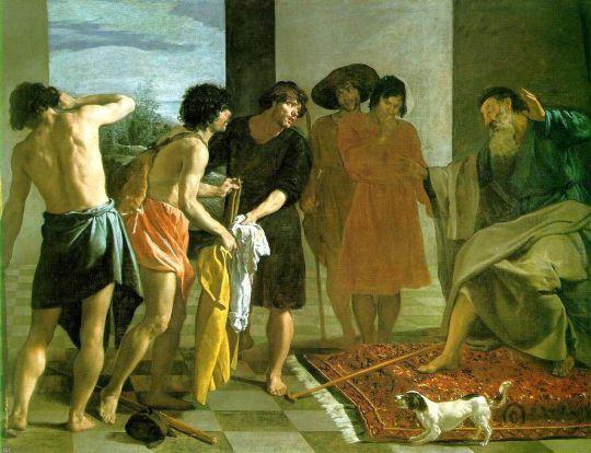 Кровавые одежды Иосифа принесли к Иакову