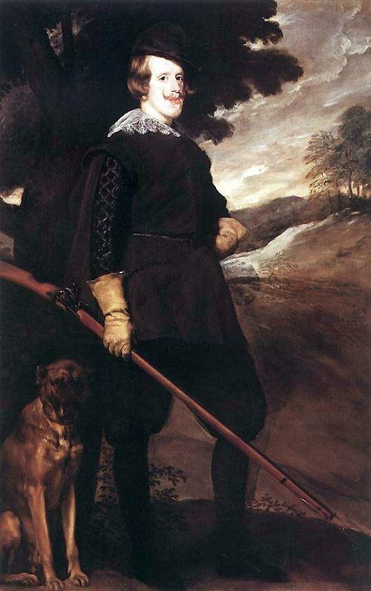 Короля Филиппа IV на охоте