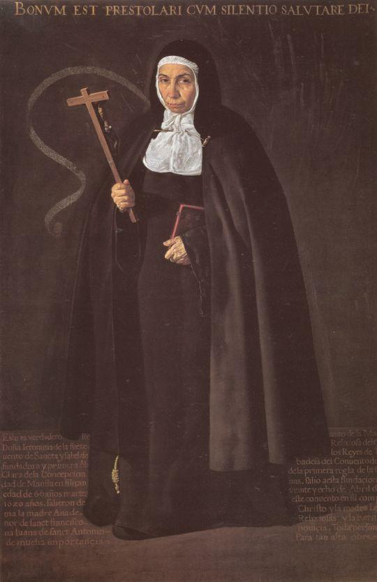 Портрет матери Херонимы де ла Фуэнте
