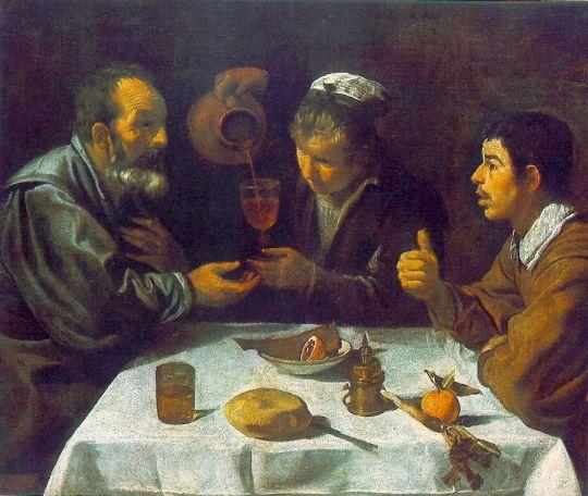Крестьянский обед