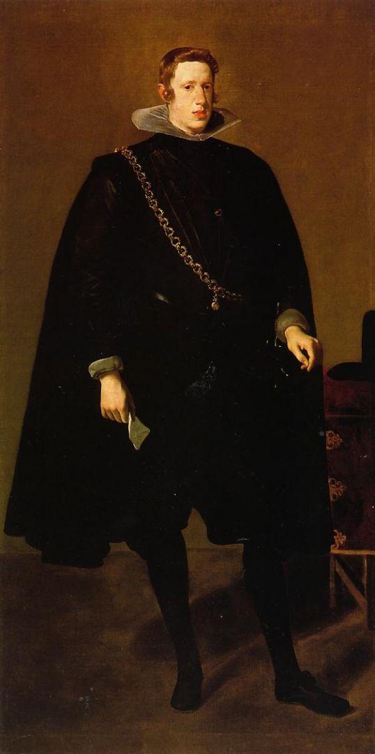 Филипп IV стоя