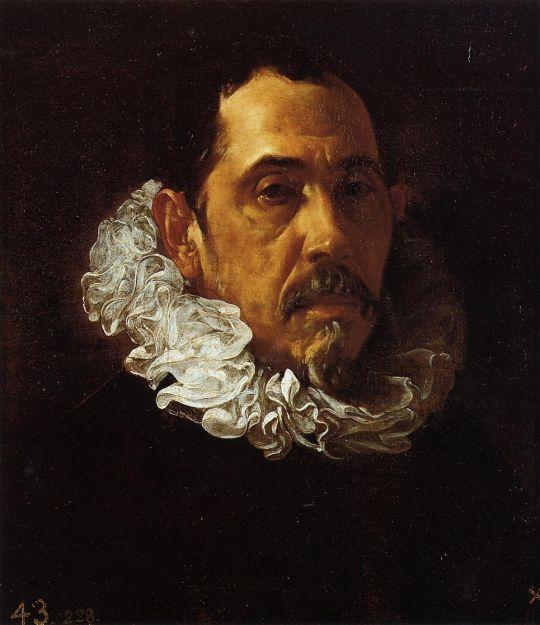 Портрет мужчины с бородкой
