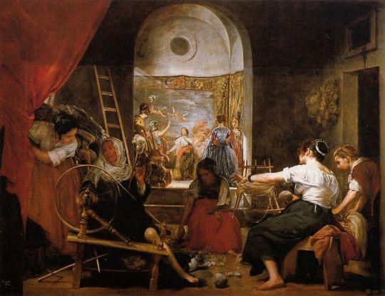 Миф об Арахне или Пряхи