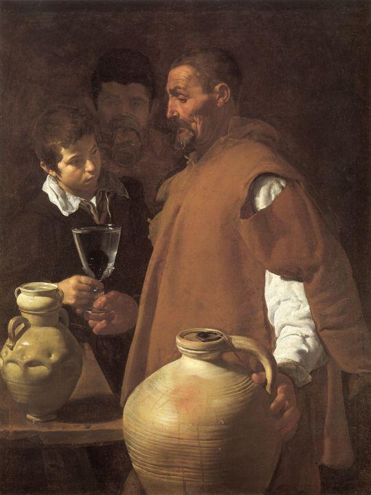 Севильский продавец воды