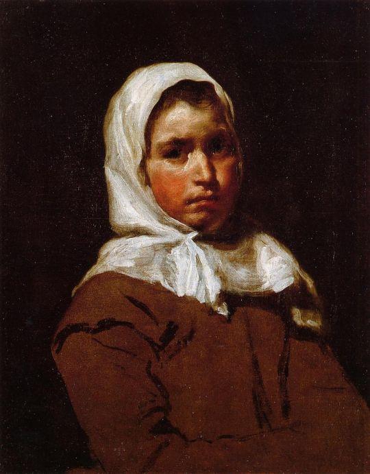 Молодая крестьянка