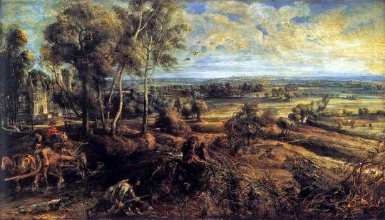 Летний пейзаж с видом Хет Стина