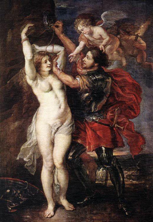 Персей освобождает Андромеду