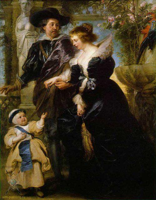 Рубенс, его жена и сын
