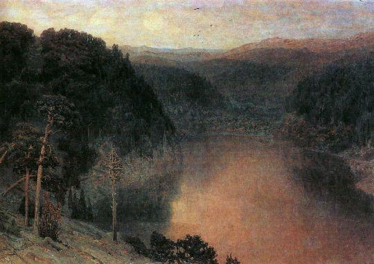 Горное озеро. Урал.