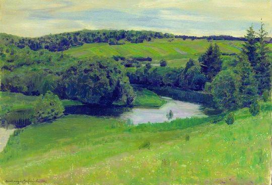 Северный пейзаж.