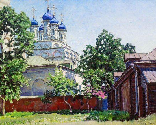 Троицкая церковь на Берсеневке.