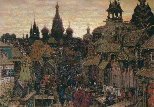 Улица в Китай-городе. Начало XVII века.