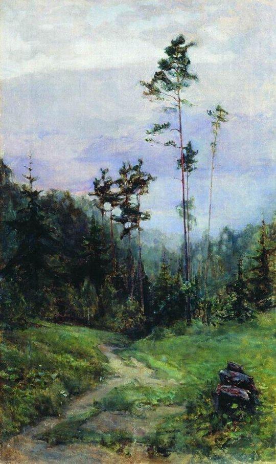 Уральский пейзаж.