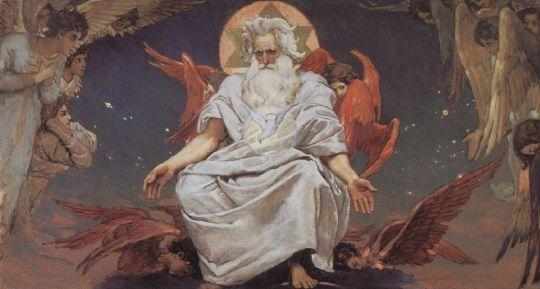 Бог Саваоф.