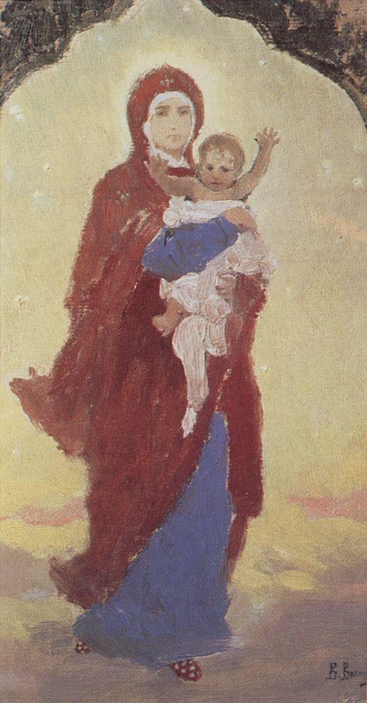 Богоматерь с Младенцем. Начало