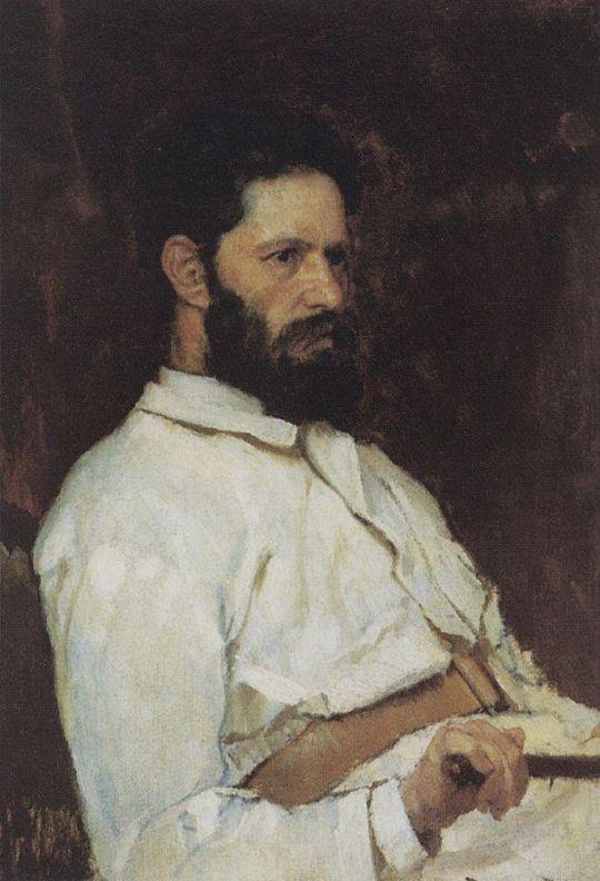 Портрет скульптора Марка Матвеевича Антокольского.