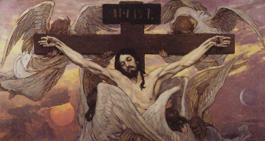 Распятый Иисус Христос.