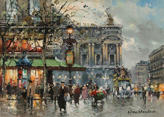 Площадь Оперы, кафе Мира
