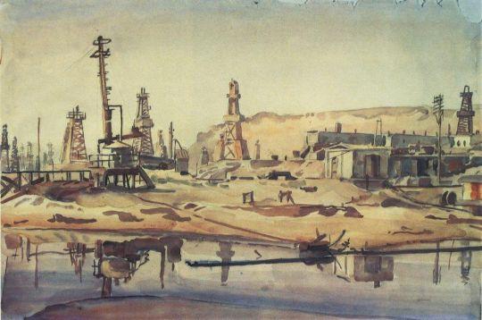 Бакинские нефтяные промыслы