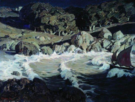 Ночь у моря