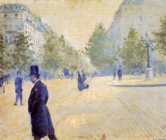 Площадь Сент-Августин в туманную погоду
