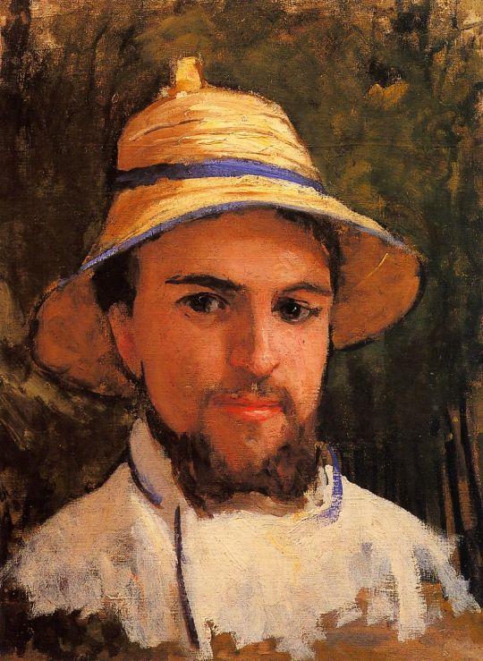 Автопортрет (фрагмент, также известный как автопортрет в летнюю жару)