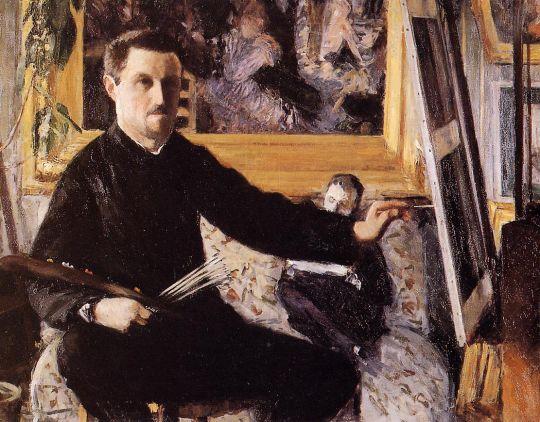 Автопортрет с мольбертом