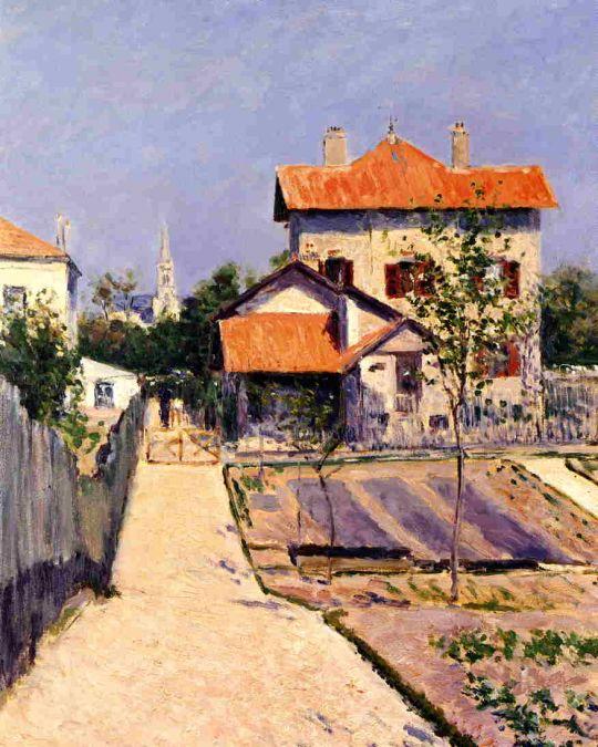 Дом художника в Петит Женневилиер