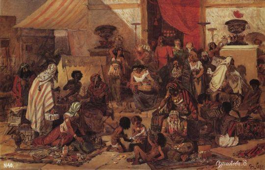 Изгнание Христом торгующих из храма