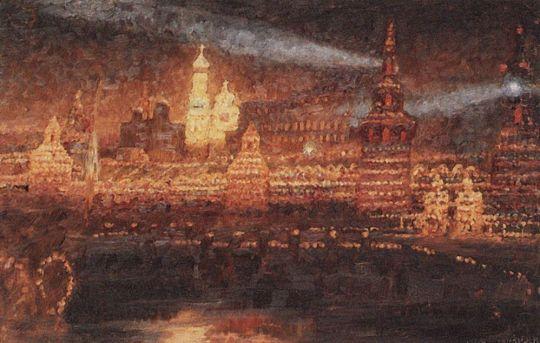 Иллюминация Москвы