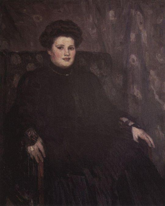 Портрет А.Н.Третьяковой