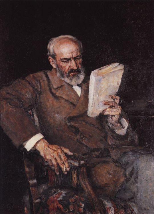 Портрет доктора А.Д.Езерского