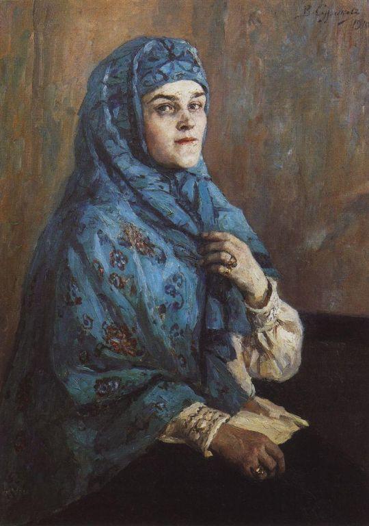 Портрет княгини П.И.Щербатовой