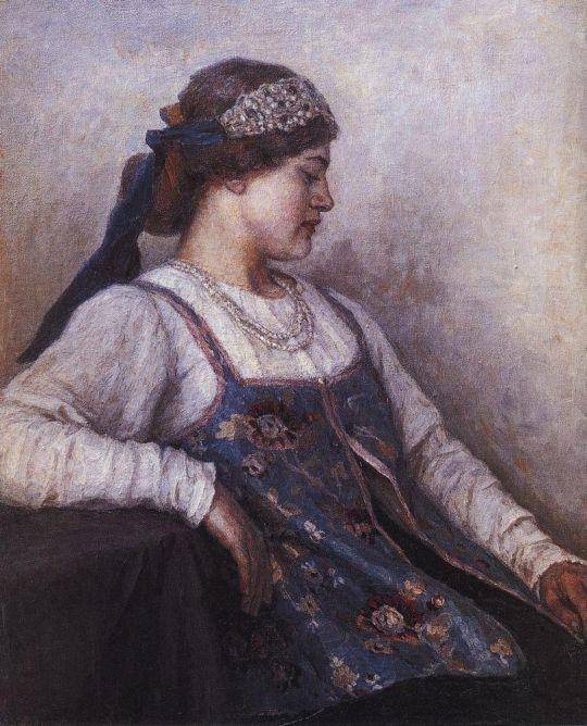 Портрет Н.Ф.Матвеевой