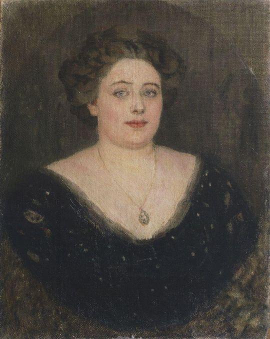 Портрет О.М.Величкиной, урожденной баронессы Клодт фон Юргенсбург