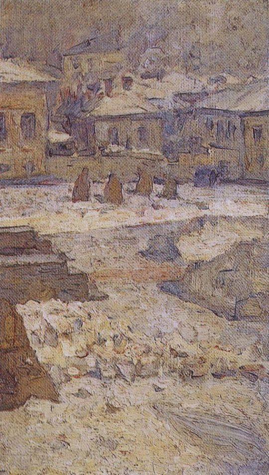 Сквер перед Музеем изящных искусств в Москве