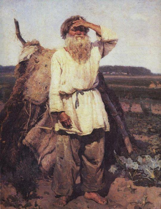 Старик-огородник