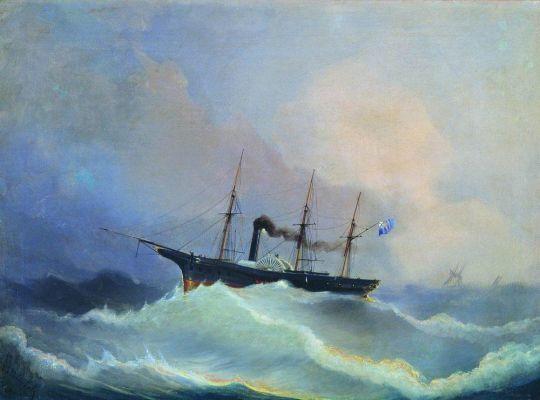 12-пушечный пароходофрегат Камчатка