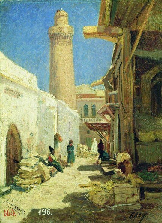 Баку. Улица в полдень