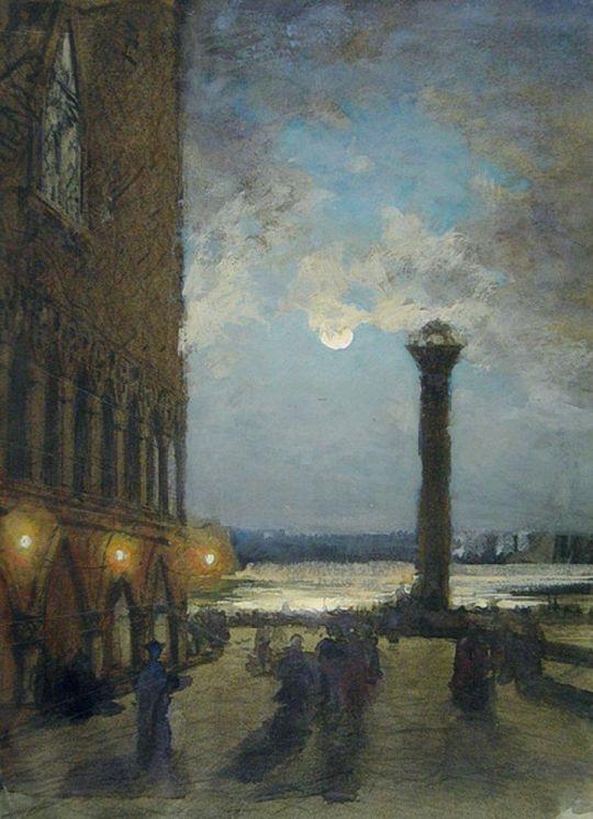 Венеция. Ночь