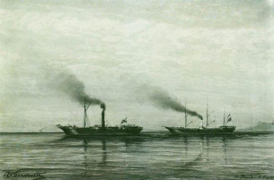 Взятие приза Мерсина в 1878 году
