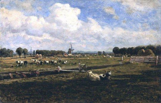 Вид в окрестностях Гааги