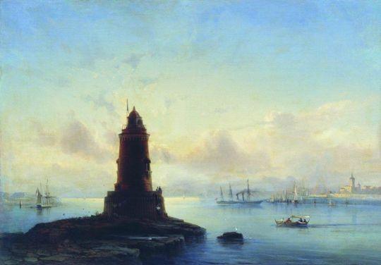 Вид Ревеля. Маяк (Марина с маяком)