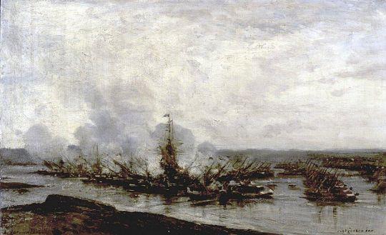 Гангутский бой (3-й момент)