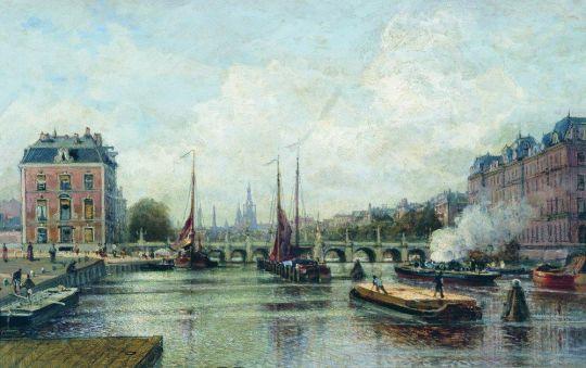 Город на реке. Амстердам