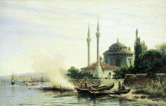 Золотой Рог в Константинополе