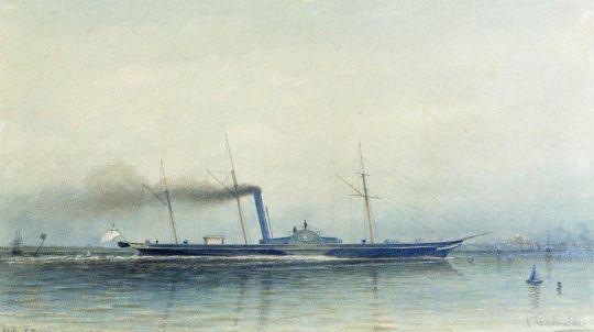Императорская паровая яхта Александрия 1852 года