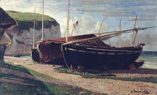 Ипор. Лодки