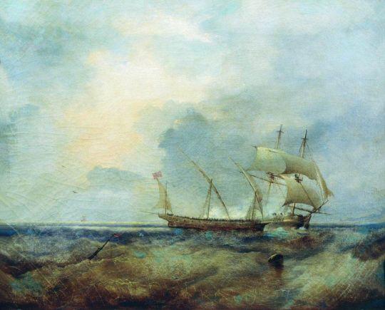 Корабли на море