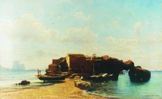 Малая гавань. Капри